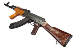 Kalashnikov AK 47 Romanian version Royalty Free Stock Images