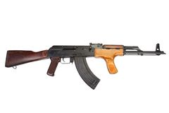 Kalashnikov AK 47 Romanian version Stock Photos