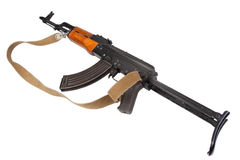 Kalashnikov AK47 with silencer Royalty Free Stock Photography