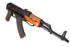 Kalashnikov AK47 with silencer Stock Photo