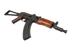 Kalashnikov ak spetsnaz isolated on a white background Stock Image