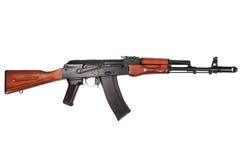 Kalashnikov ak74n isolated on a white Stock Images