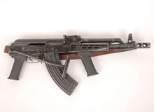 Kalashnikov AKMD assault rifle Royalty Free Stock Photos