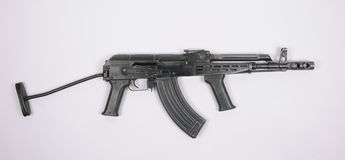 Kalashnikov AKMD assault rifle Royalty Free Stock Image