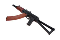 Kalashnikov aks74u isolated Royalty Free Stock Image