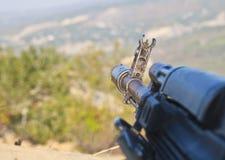 Kalashnikov assault rifle, AK-74 Stock Image