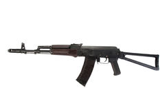 Kalashnikov assault rifle aks 74 Royalty Free Stock Photography