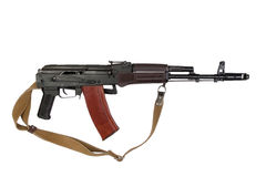 Kalashnikov assault rifle aks-74 Royalty Free Stock Image