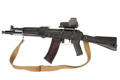 Kalashnikov assault rifle Stock Photo