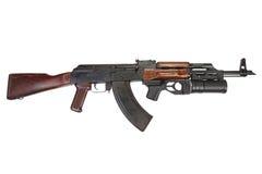 Kalashnikov with GP-25 grenade launcher Royalty Free Stock Images