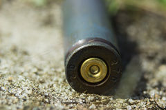 Kalashnikov Gun Shell Royalty Free Stock Photos