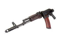 Kalashnikov paratrooper aks74 Royalty Free Stock Images