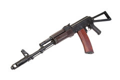 Kalashnikov paratrooper assault rifle Stock Image