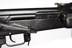 Kalashnikov receiver Stock Images