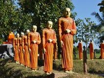 Kalattawa Buddhists temple Royalty Free Stock Photos