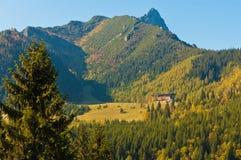 Kalatówki mountain hotel in the Tatry mountains, Poland Stock Photos