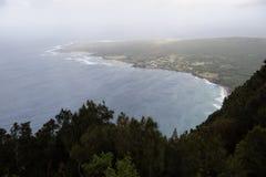 Kalaupapa Overlook in Palaau State Park Stock Image