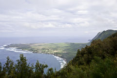 Kalaupapa Peninsula Royalty Free Stock Images