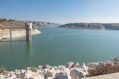 Kalavasos reservoir royalty free stock image