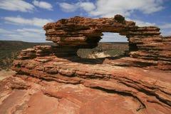 Παράθυρο Kalbarri φύσης στοκ φωτογραφίες