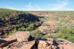 Kalbarri, Australia occidentale: Cliff Views Fotografia Stock