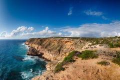 Kalbarri Batavia coast cliffs on the ocean Stock Photography