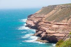 Kalbarri Cliff Coast Lookout Fotografie Stock Libere da Diritti