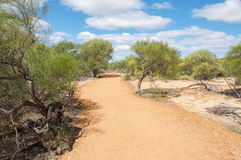 Kalbarri Hiking Path: Western Australia Royalty Free Stock Photo