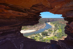 Kalbarri N.P. - Natures Window Royalty Free Stock Photos