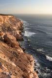 Coastal cliffs at sunset. Kalbarri National Park. Western Australia. Australia Royalty Free Stock Photos