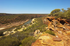 Kalbarri National Park, WA royalty free stock image