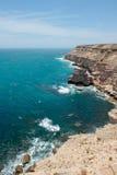Kalbarri Steep Cliff Coast Royalty Free Stock Image