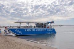 Kalbarri Wilderness Sunset Cruise royalty free stock photo