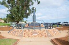Kalbarri Wojenny pomnik Zdjęcie Stock