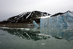 Kalben-Gletscher 8/27 Stockbilder