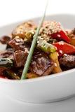 Kalbfleisch mit Gemüse Lizenzfreie Stockfotos