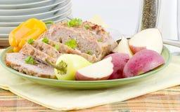 Kalbfleisch-und Schweinefleisch-Laib Lizenzfreies Stockfoto