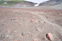 Kaldera antyczny wulkan Obraz Royalty Free