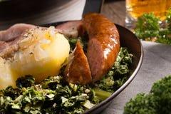 Kale or borecole Stock Photo