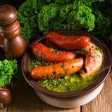 Kale or borecole Stock Image