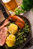 Kale or borecole Royalty Free Stock Photos