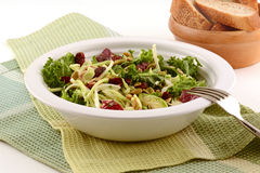 Kale and cabbage salad Stock Photography