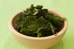 Kale Chip Snack Stock Photo
