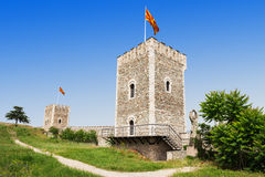 Kale Fortress. Is a historic fortress located in the old town, Skopje, Macedonia Stock Photography
