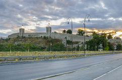 Kale fortress in Skopje, Macedonia Royalty Free Stock Photo