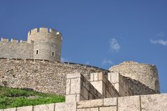 Skopje fortress Kale - South walls Stock Image