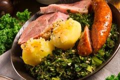 Kale lub borecole Zdjęcie Stock