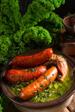 Kale lub borecole Zdjęcia Stock