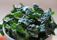Kale orgânico Fotografia de Stock