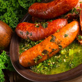 Kale ou couve galega Imagem de Stock